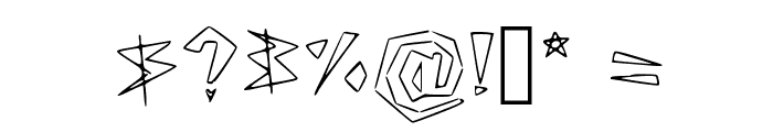 Lookin' Like Diamonds Regular Font OTHER CHARS