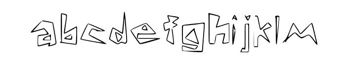 Lookin' Like Diamonds Regular Font LOWERCASE