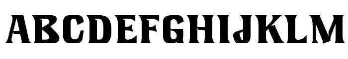 LookingGlassOpti Font UPPERCASE