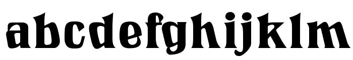 LookingGlassOpti Font LOWERCASE