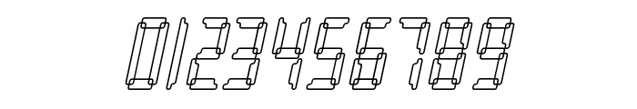 Loopy Italic Font OTHER CHARS