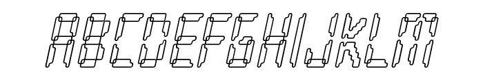 Loopy Italic Font LOWERCASE