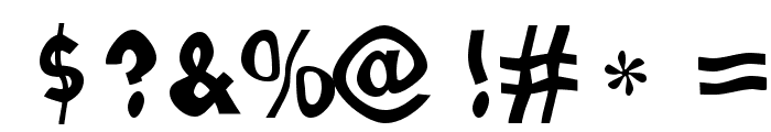 Loopy Letters Font OTHER CHARS