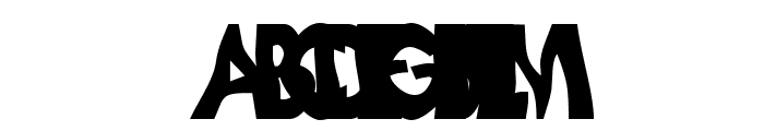 Loopy Letters Font UPPERCASE