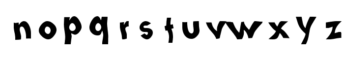 Loopy Letters Font LOWERCASE