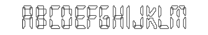 Loopy Font UPPERCASE