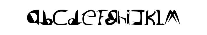Lord ZeDD - LJ Studios Font LOWERCASE