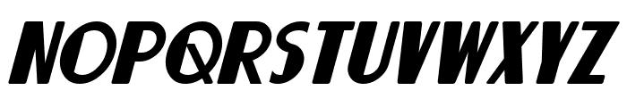Lorre Italic Font UPPERCASE