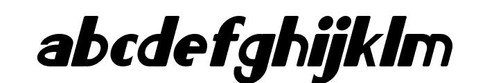Lorre Italic Font LOWERCASE