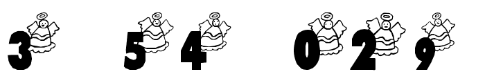 LosAngeles Font OTHER CHARS