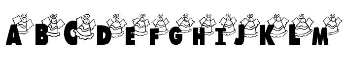 LosAngeles Font LOWERCASE
