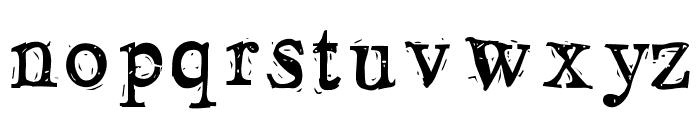 LosBlauErreur Font LOWERCASE
