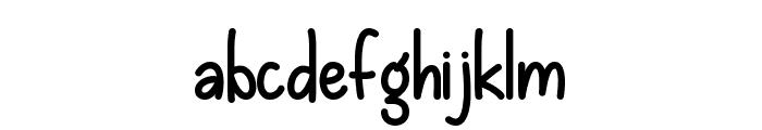 Losing Grip Regular Font LOWERCASE