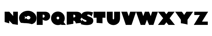 Lost Fish Font LOWERCASE