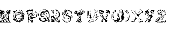Lost World Font LOWERCASE