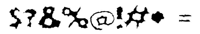 LostLubbockMotels Font OTHER CHARS