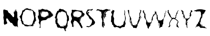 LostLubbockMotels Font UPPERCASE
