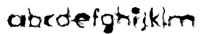 LostLubbockMotels Font LOWERCASE