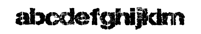 LostType Font LOWERCASE