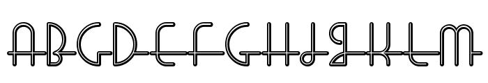 LostWages Font UPPERCASE