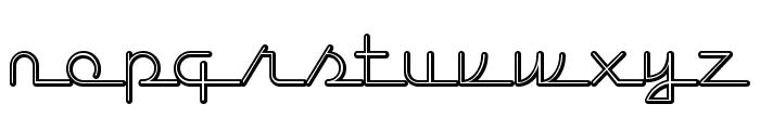 LostWages Font LOWERCASE