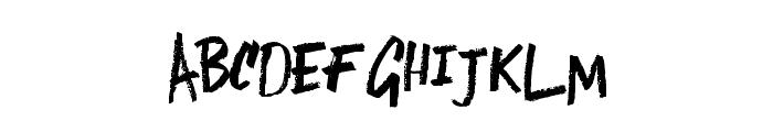 LostintheSound-Regular Font UPPERCASE