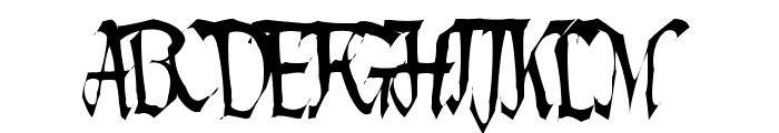 Lotharus Wide Top Font UPPERCASE