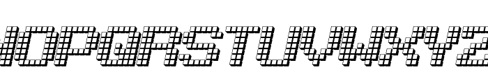 LotsOfDotz Font UPPERCASE
