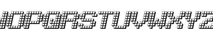 LotsOfDotz Font LOWERCASE
