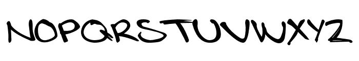 LotteByRue-Regular Font LOWERCASE