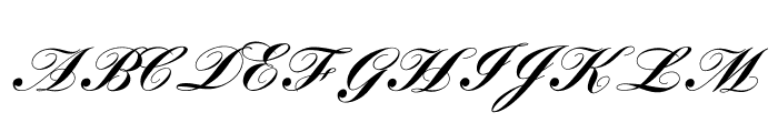 LouisaCP Font UPPERCASE