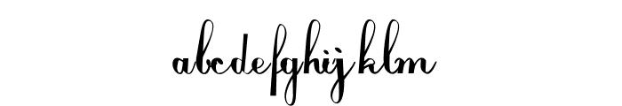 Louizede Font LOWERCASE