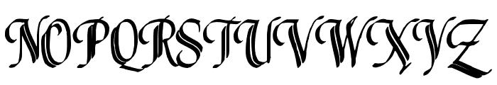 Louvaine Font UPPERCASE