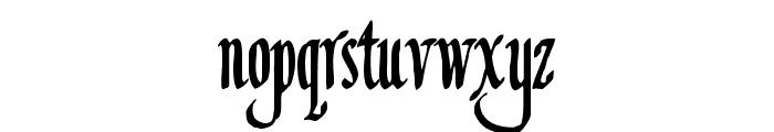 Louvaine Font LOWERCASE