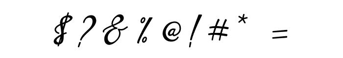 Love Amsterdam Script Regular Font OTHER CHARS