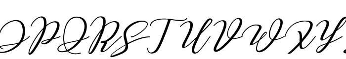 Love Amsterdam Script Regular Font UPPERCASE