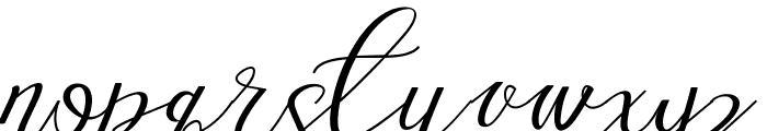 Love Amsterdam Script Regular Font LOWERCASE