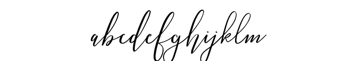 Love Hewits Font LOWERCASE