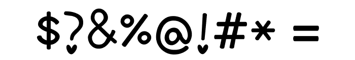 Love Letter Font OTHER CHARS
