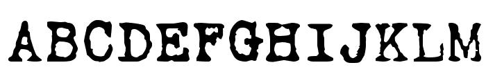 Love LetterTW Font UPPERCASE