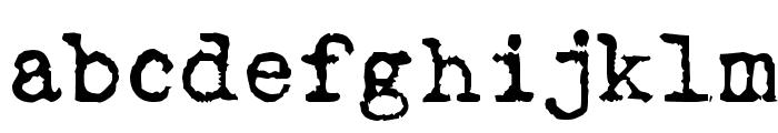 Love LetterTW Font LOWERCASE