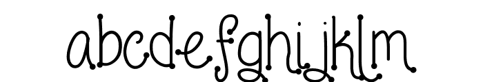 Love and laughter Font LOWERCASE