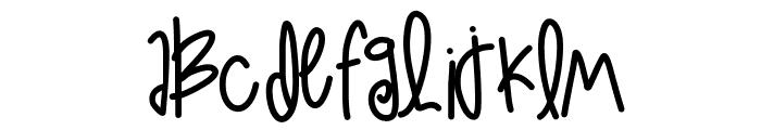 LoveAtFirstSight Font UPPERCASE