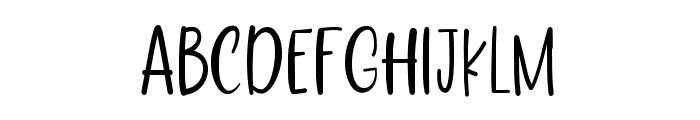 LoveFloridaRegular Font LOWERCASE