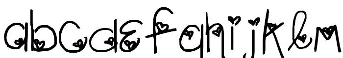 LoveLetter_kR3wgZ Font LOWERCASE