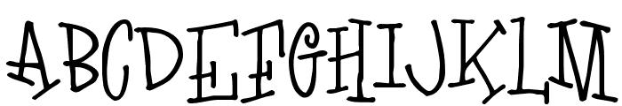 LoveLetters Font UPPERCASE