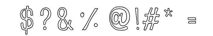 LoveLove Font OTHER CHARS