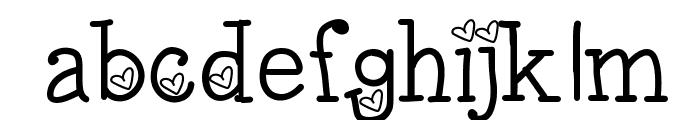 LoveNessTwo Font LOWERCASE