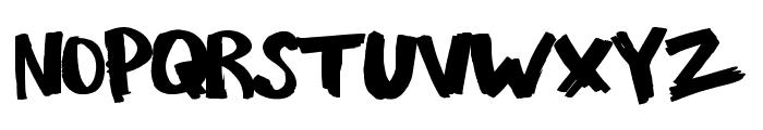 LoveRiot Font UPPERCASE