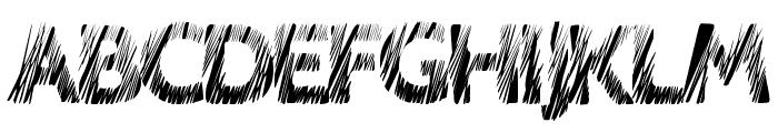 LoveScratch Font UPPERCASE